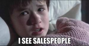 bad sales people